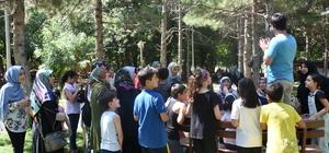 Yaz Kur'an Kursu öğrencilerinin piknik keyfi