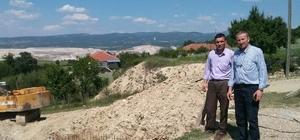 Hisarcık Kızılçukur köyü İçme Suyu ve kanalizasyon Şebekesi Hattı'nın ihalesi sonuçlandı