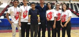 Büyükşehir Belediyesi tekvando takımı Antalya'da 3. oldu