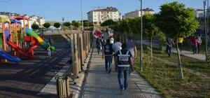 """Van'da """"Türkiye Huzurlu Parklar"""" uygulaması"""