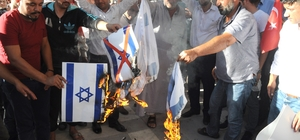 Akçakale'de İsrail'in Mescid-i Aksa işgali kınandı