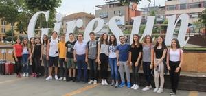 15 Genç Giresun'u Almanya'da tanıtıcak