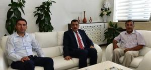 CHP İl Başkanı Kiraz'dan, Belediye Başkanı Gürkan'a ziyaret