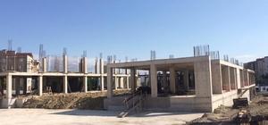 İlimtepe'nin Kültür Merkezi hızla yükseliyor