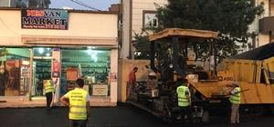 İpekyolu Belediyesinden yol asfaltlama çalışması