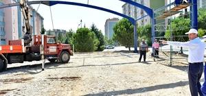 Dulkadiroğlu Belediyesi'nden Doğukent'e modern pazar yeri