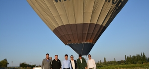 Seyitgazi'de balon heyecanı