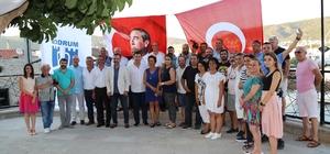 Başkan Kocadon, Bodrum basınıyla bir araya geldi
