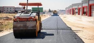 KÜSGET'te kapsamlı yol açma ve asfalt çalışması başladı