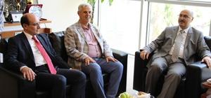 Vali Yavuz Selim Köşger'den Söke Belediyesine ziyaret