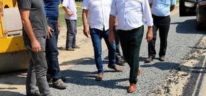 Başkan Uyan'dan yollara son teknoloji dokunuşu