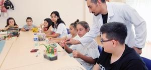Yenimahalleli çocuklardan görsel şölen