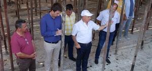 """Başkan Akgün: """"Akalan köyümüze modern bir eğitim tesisi kazandırıyoruz"""""""