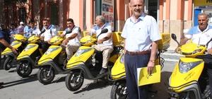 Erzincan PTT'ye 10 yeni motor