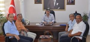 Aydın ASKF'den Bekir Çeker'e ziyaret