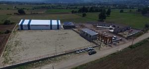 Kartepe atla terapi merkezi inşaatı yükseliyor
