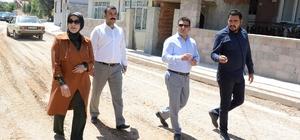 Meram'da yol genişletme çalışmaları sürüyor