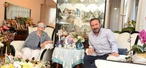 Başkan Doğan, Kezban Teyze'ye geçmiş olsun ziyaretine gitti