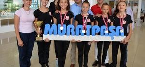 Muratpaşa'nın cimnastikçileri Edirne'de şampiyon oldu