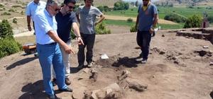 İnönü'nün 6 bin yıllık tarihi gün yüzüne çıkıyor