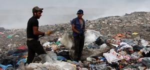 Kars Çöplüğünde yaşam mücadelesi