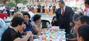 Başkan Uysal gurbetçileri bir araya getirdi