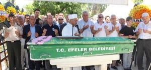 Başkan Özakcan'ın annesi son yolculuğuna uğurlandı