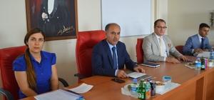 Şırnak 3'üncü dönem il koordinasyon kurulu toplantısı yapıldı