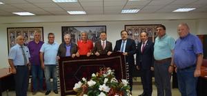Arnavutluk Büyükelçisi'nden Borsa ziyareti