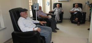 Kemoterapi ünitesi bölgeye hizmet veriyor
