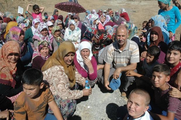 Türkoğlu'nda içme suyu sorunu