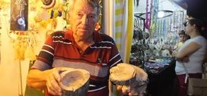 Burhaniye'de zeytin odunları hediyelik eşya oldu