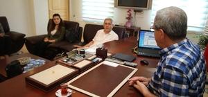 Savcı ve hakimlerden Başkan Akcan'a ziyaret