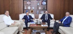 Güleç'ten ve Nur'dan MÜSİAD Genel Başkanı Kaan'a hayırlı olsun