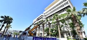 Büyükşehir binası 200 ton hafifleyecek