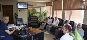Başkan Yaman, mahalle sakinleri ve muhtarıyla bir araya geldi