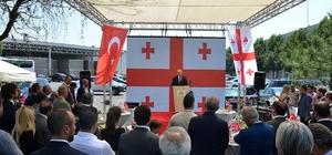 Tekirdağ'da  Gürcistan Fahri Konsolosluk ofisi açıldı