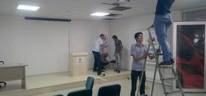 Simav Belediyesinden Gençlik Merkezine ses mikseri