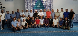 Almanya'da Mehmet Ali Sarı'ya veda ve vefa programı