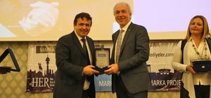 Kütahya Belediyesine 'Marka Belediye' ödülü