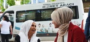 Torbalı'da evde bakım hizmeti vatandaşların umudu oldu