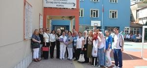 Kadın girişimcilerden Engelliler Okulu'na bağış