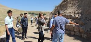 Ayanis Kalesi'nde kazı çalışmaları başlatıldı