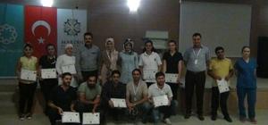 Mardin'de hastane personellerine işaret dili eğitimi