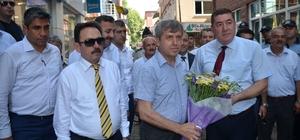 Vali Çınar, Alaplı Belediyesi'ni ziyaret etti