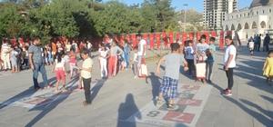 Mardinli çocukları oyuna doydu