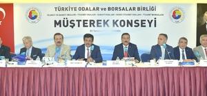 Serdar Akdoğan, müşterek konsey toplantısına katıldı
