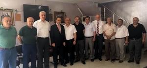 Vergi Dairesi Müdürü Şengül'den KESOB'A  veda ziyareti