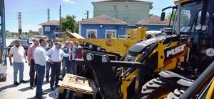 Kartepe Belediyesi yeni iş makineleri aldı