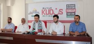 Saadet Partisinden 'Büyük Kudüs Mitingi'ne çağrı